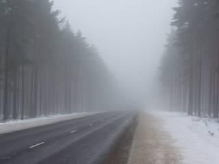 В ВКО ожидаются низовая метель, гололед и туман